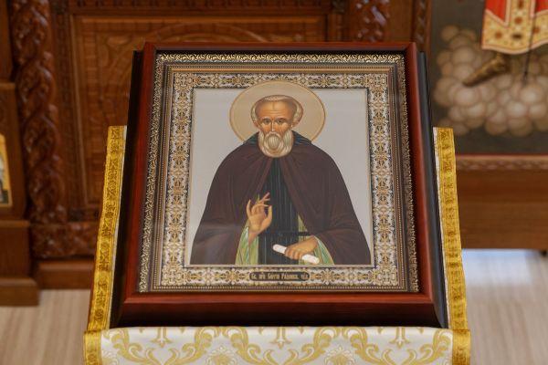 Икона преподобного Сергия Радонежского Чудотворца