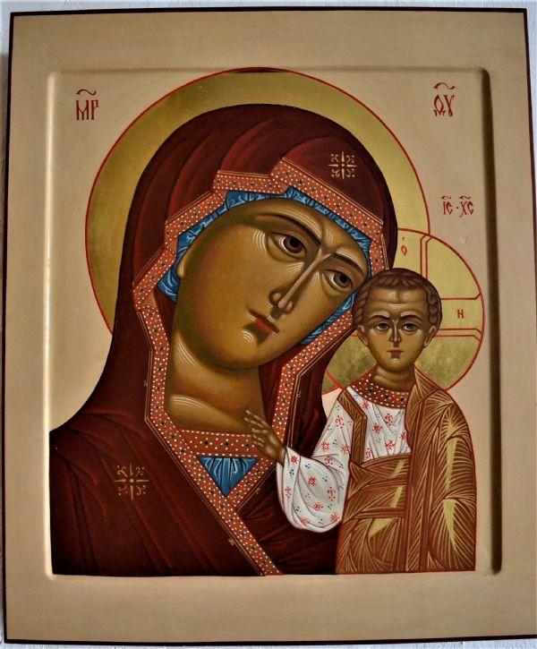 Икона Пресвятой Богородицы Марии `Казанская`
