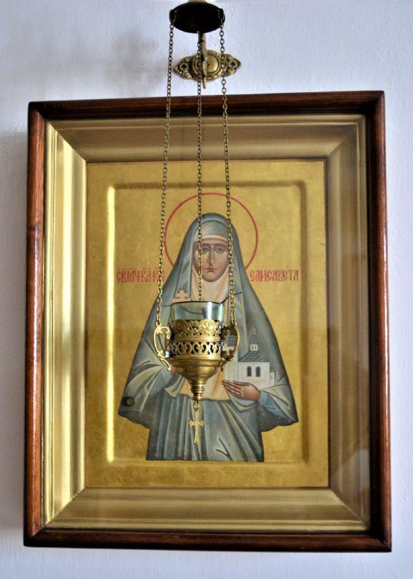 Икона святой мученицы великой княгини Елисаветы