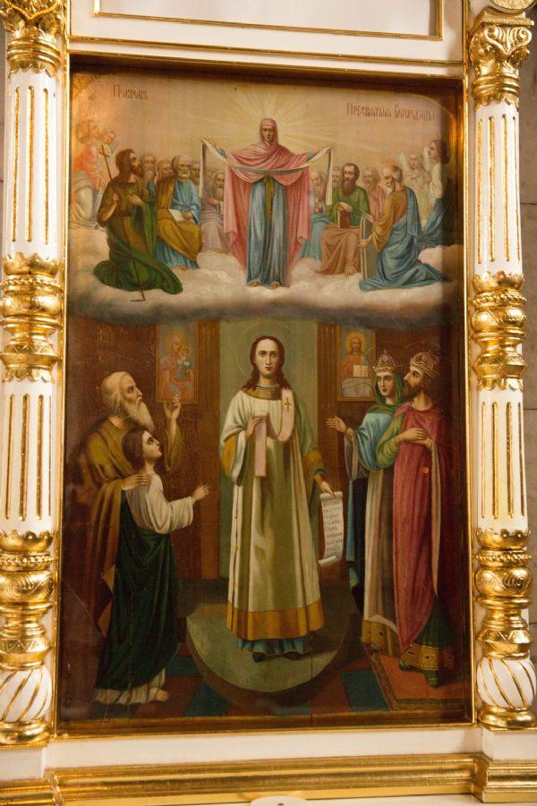 икона Божией Матери Покров Пресвятой Богородицы