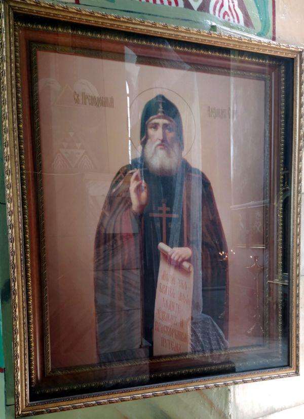 икона прп. Александра Свирского