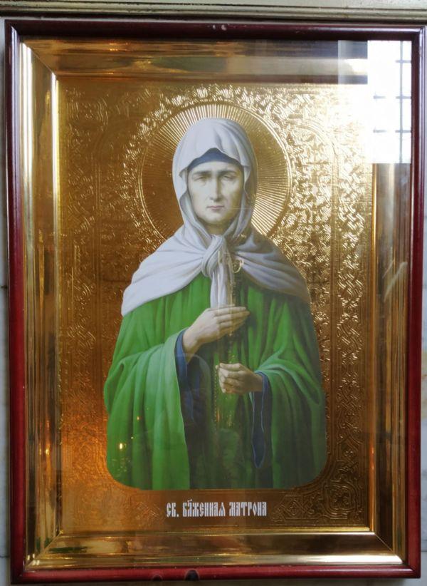 икона св. блж. Матроны Московской
