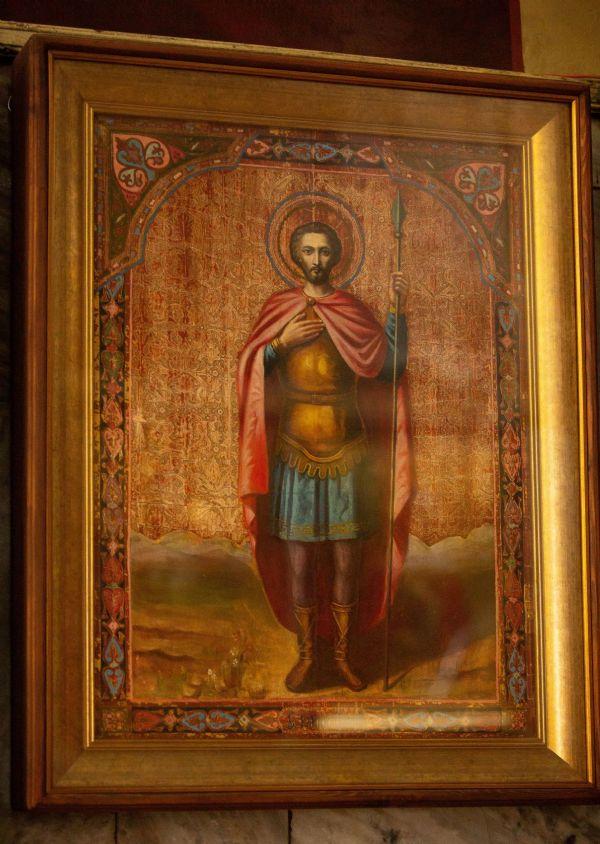 икона св. муч. Иоанна Воина
