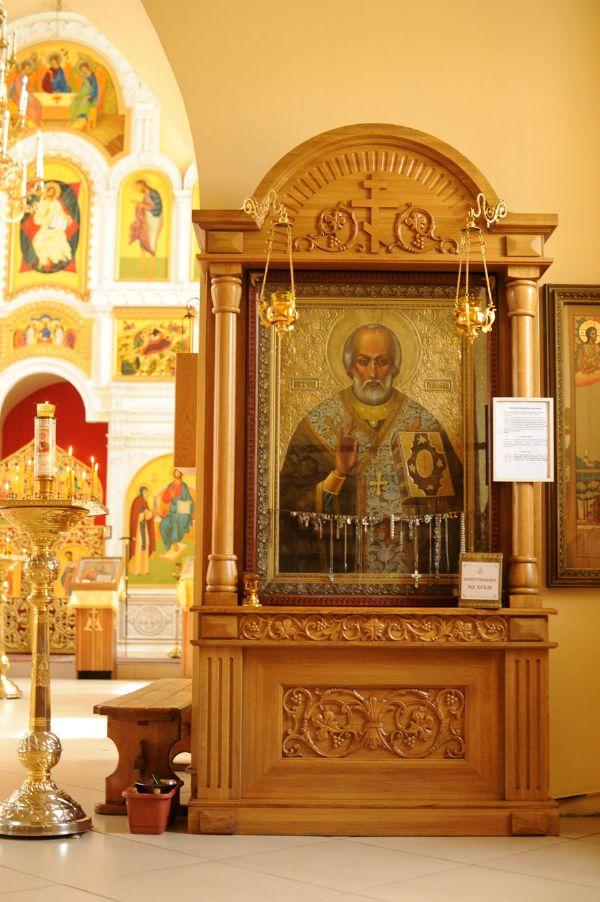 Икона Святителя Николая Чудотворца, архиепископа Мир Ликийских