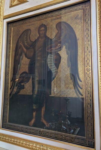 Икона св. Иоанна Предтечи