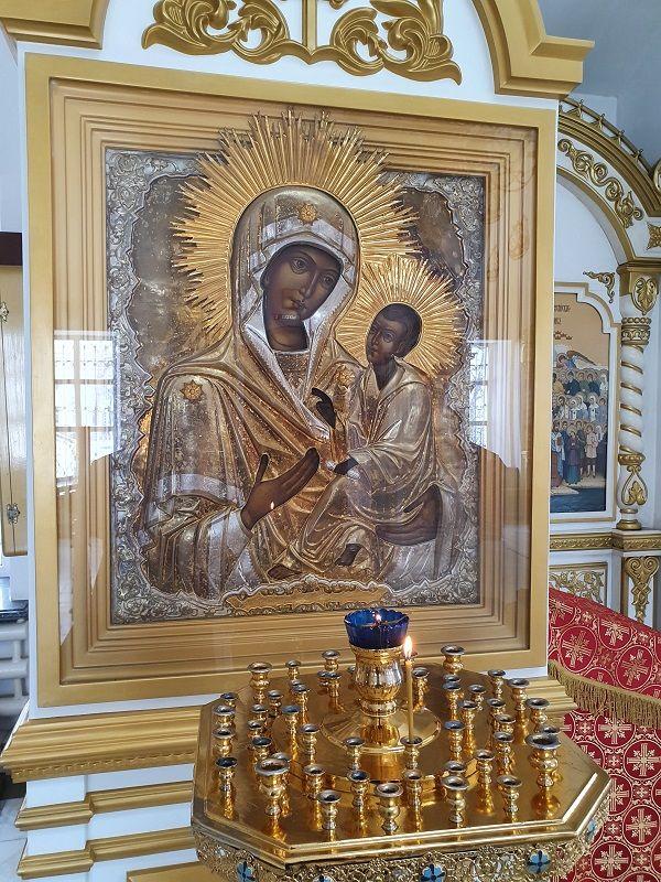 `Тихвинская`, икона Пресвятой Богородицы