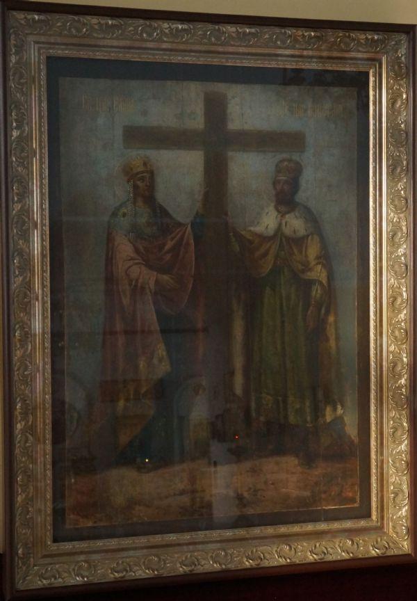 свв. равноапостольные Константин и Елена