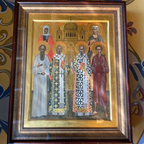 Икона всех Томских святых