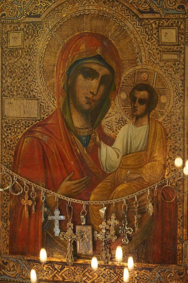 Чтимая Иверская икона Божией Матери