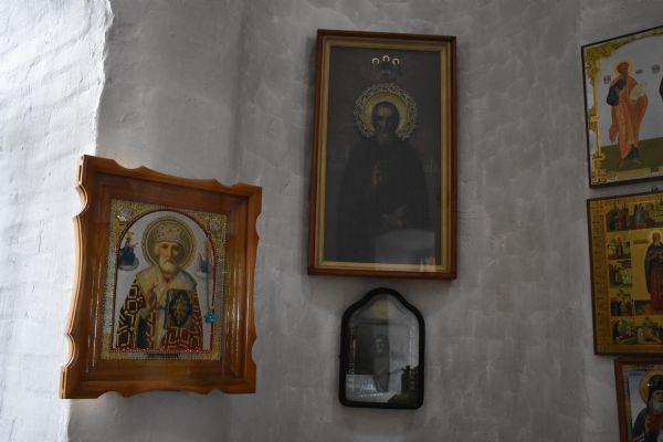 Преподобные Сергий Радонеж. и Серафим Саровский