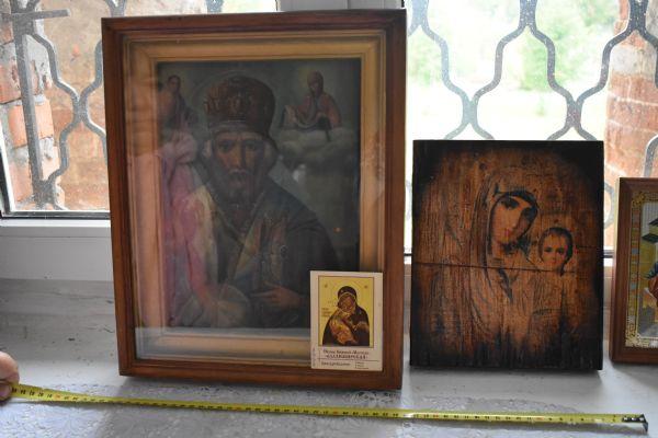Святитель Николай Чудотворец (Старинная икона)