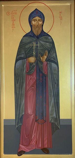 благоверный князь Александр Невский, свеча витая с иконой бл. кн. Александра Невского