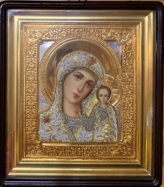 Казанская икона Пресвятой Богородицы, Свеча № 30, воск