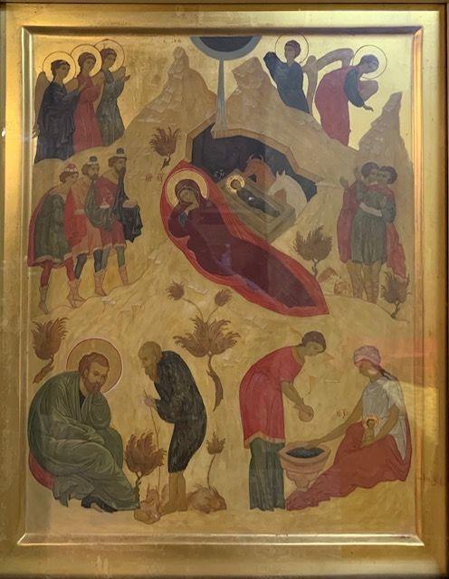 Рождество Христово, Свеча № 30, воск