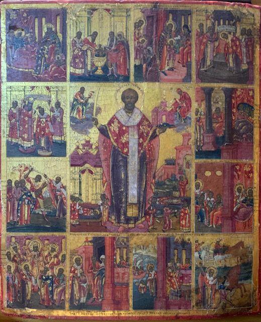 св. Николай Чудотворец, Свеча № 30, воск