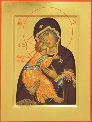 Икона Божией Матери `Владимирская`