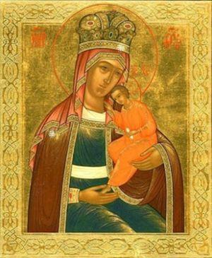 Икона Божией Матери `Избавление от бед страждущих`