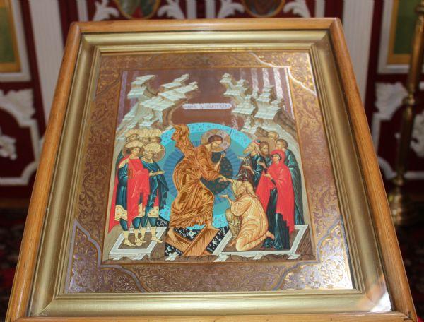 Икона праздника (до отдания Пасхи - Воскресение Христово)