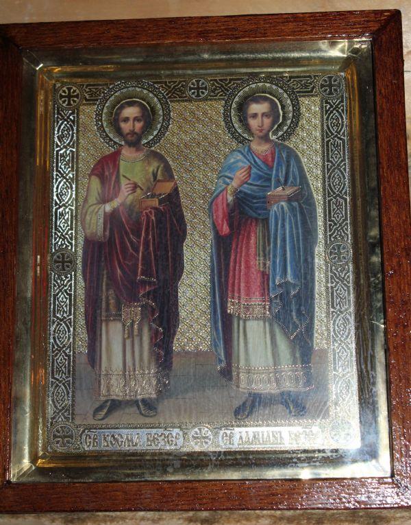 Святые целители - Бессребреники и чудотворцы Косма и Дамиан
