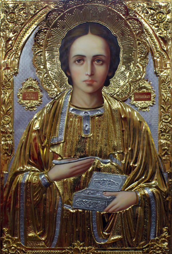 Икона свят. вмч. Пантелеймона целителя