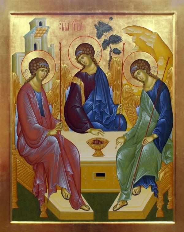 «Тро́ица» — икона Святой Троицы