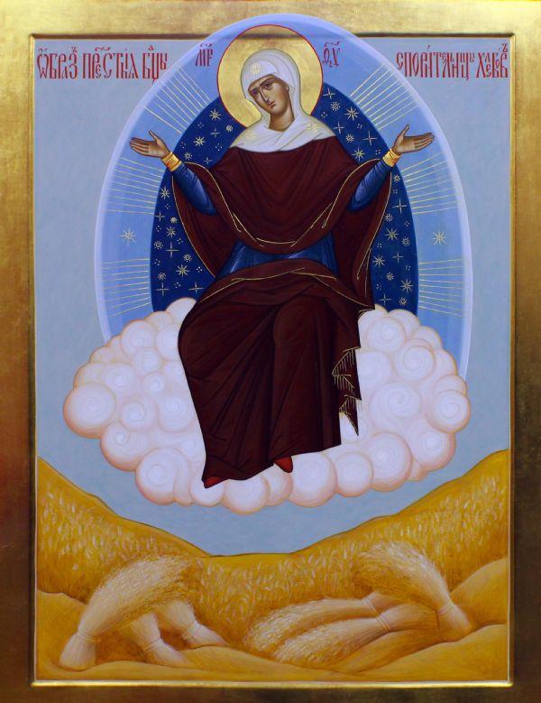 Икона Богородицы «Спорительница хлебов»»