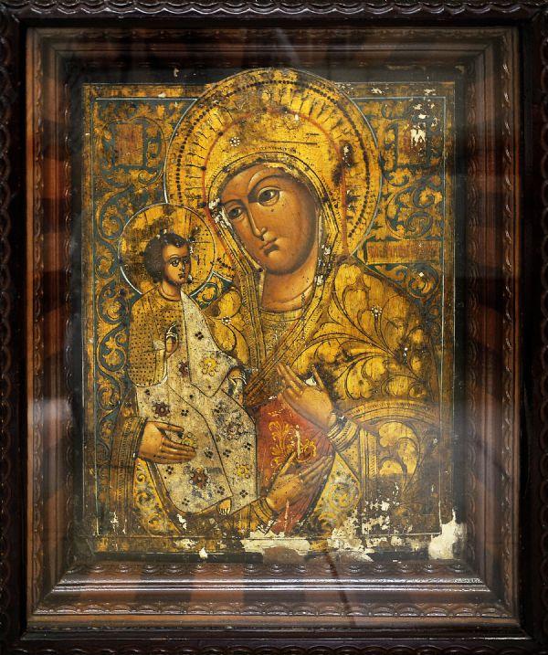 Троеручница, икона Пресвятой Богородицы
