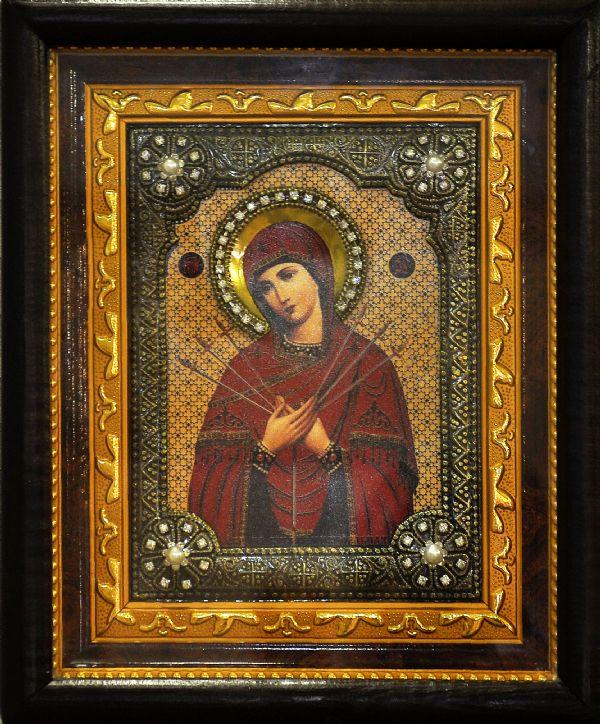 Семистрельная, икона Пресвятой Богородицы