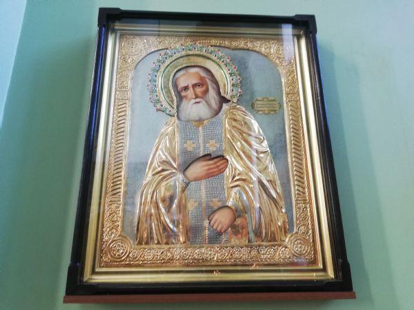 Икона прп. Серафима Саровского чудотворца