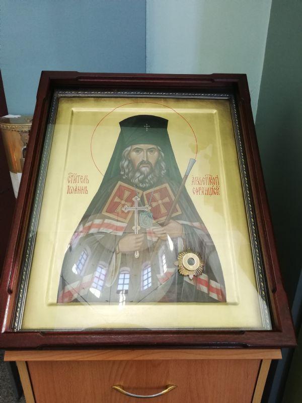 Икона свт. Иоанна Шанхайского и Сан-Францисского чудотворца