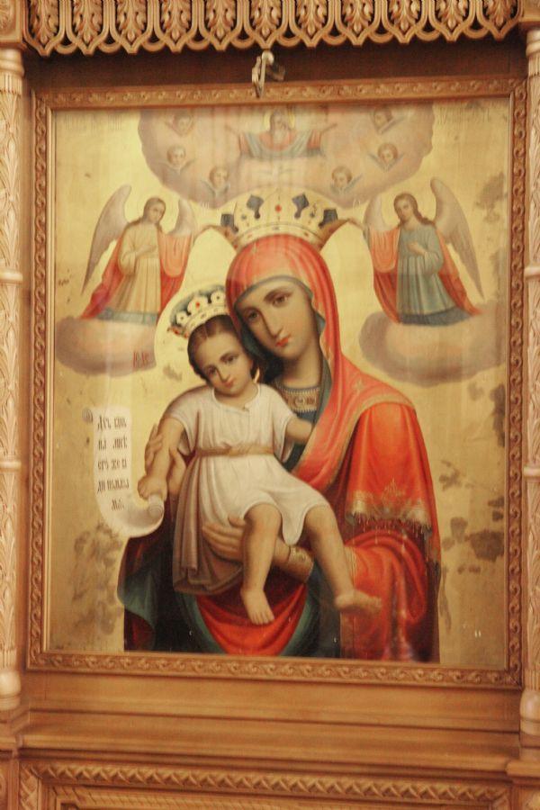 """Икона Божией Матери """"Достойно есть"""""""