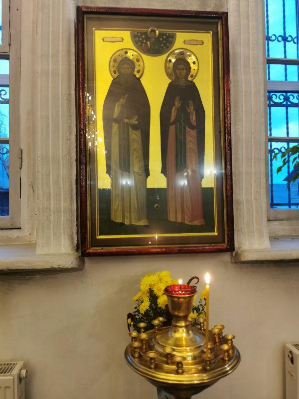 Святые благоверные князь Петр и княгиня Феврония Муромские чудотворцы