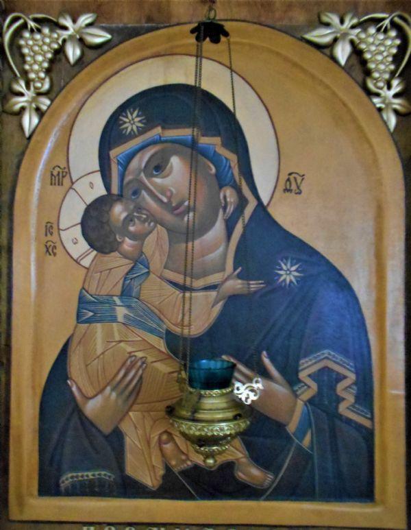Икона Пресвятой Богородицы Марии `Владимирская`